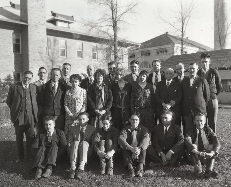 BIG 1930 CSU Entomology Club photo