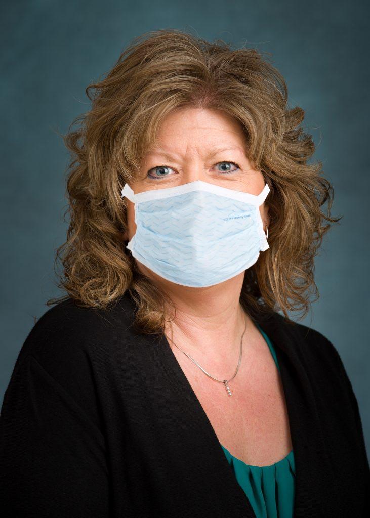 Paula White Photo with Mask