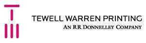tewell warren printing logo