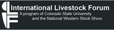 International Livestock Forum logo.