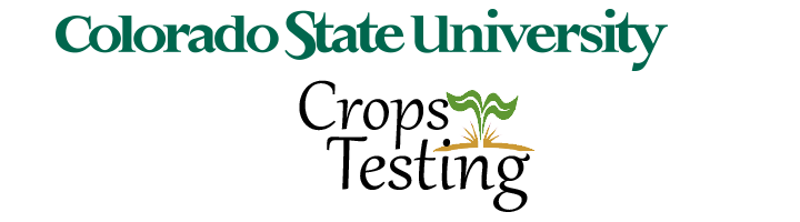 Csu Crop Testing Logo