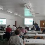 Steve Fonte Presenting at the Soil Health Workshop