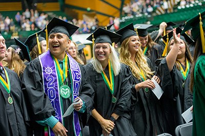 The Colorado State University College of Agricultural Sciences 2016 commencement ceremony, May 14, 2016.