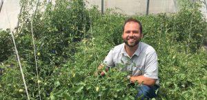 Tyler Mason, Ph.D. candidtate Horticulture