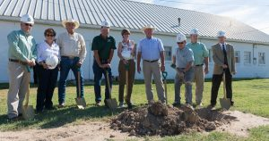 Ground breaking ceremony at Arkansas Valley Research Center