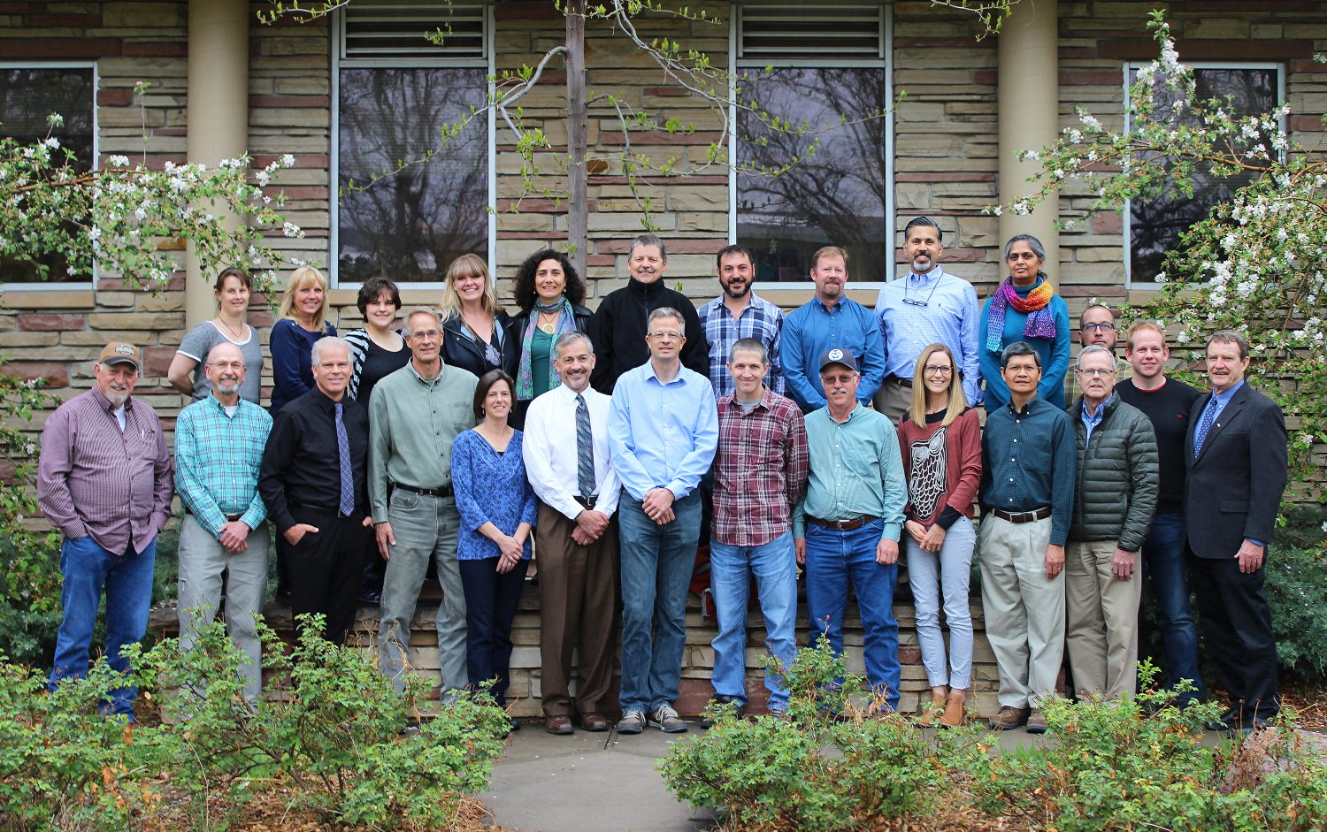 photo of faculty and staff