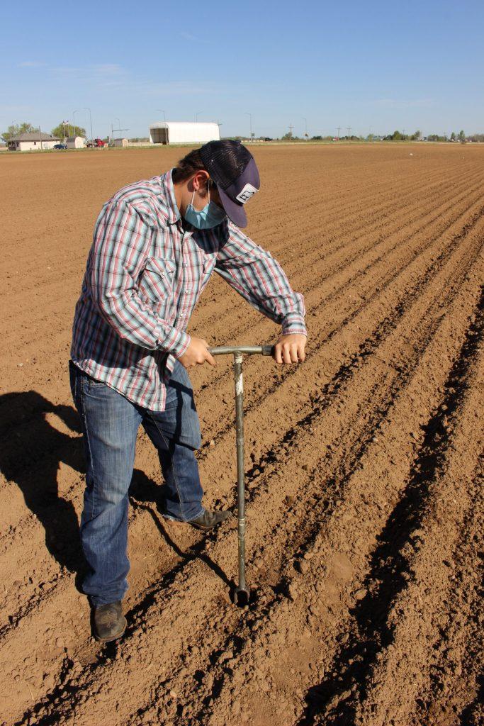 AJ Brown field coring