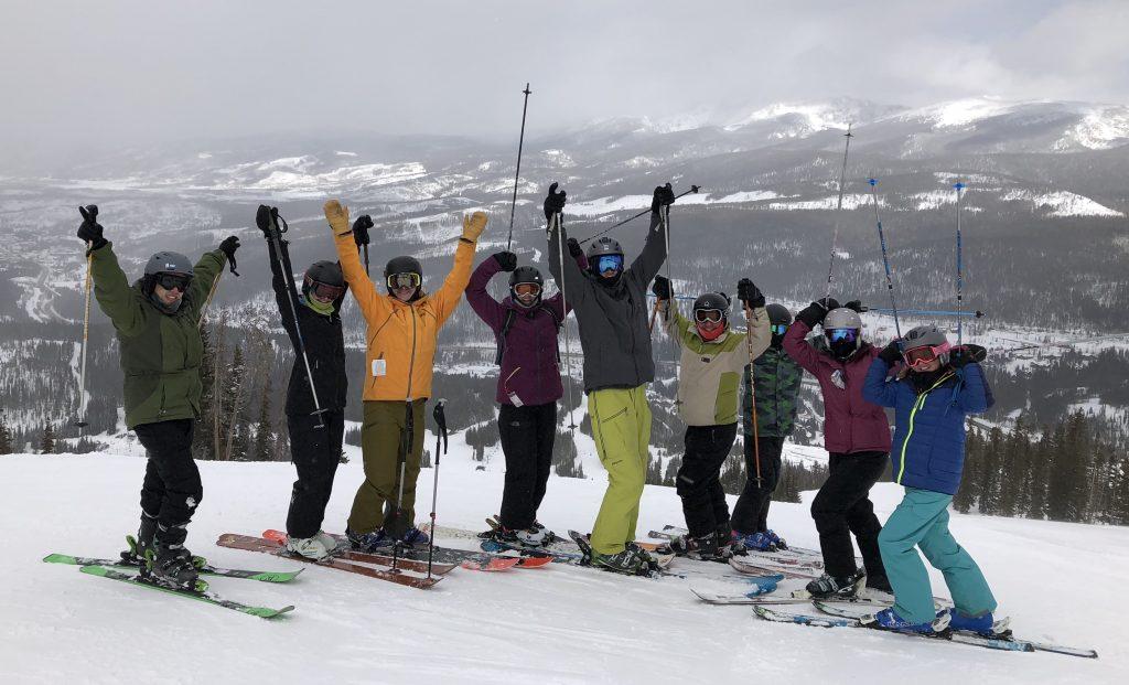 ski trip for Borch group