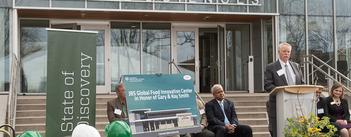 $12.5 million investment by JBS to launch Global Food Innovation Center
