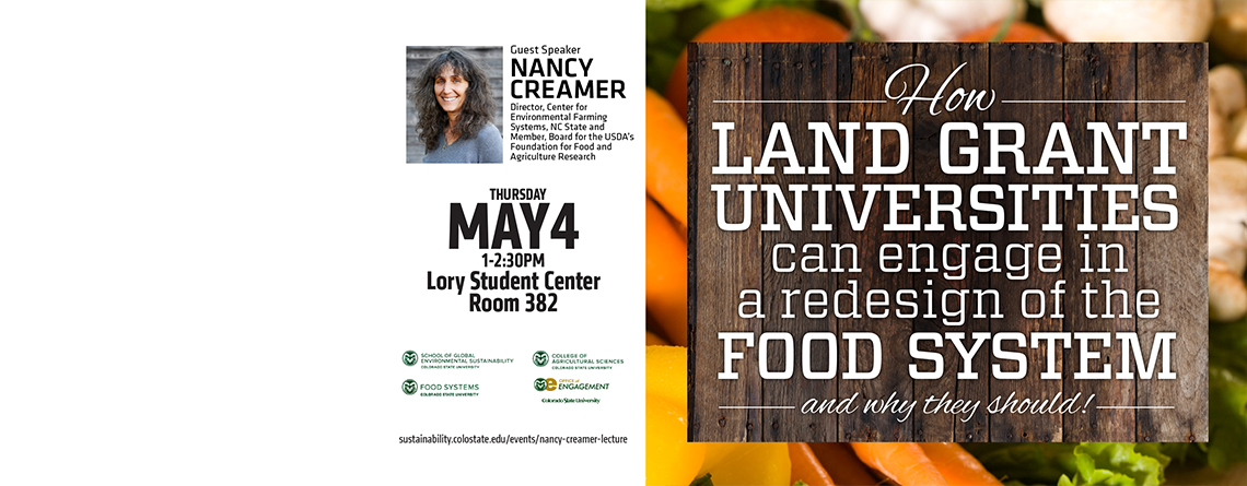 SOGES Discussion: How land grant universities can engage in a redesign of the food system