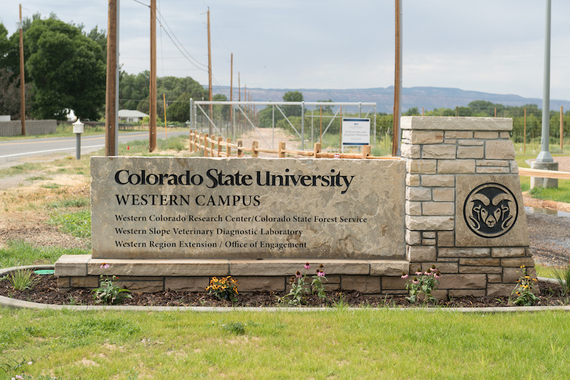 Colorado State University celebrates the opening of its Western Campus in Grand Junction, August 29, 2019.
