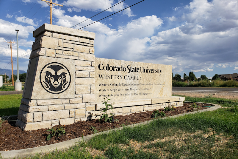 Western Campus Sign